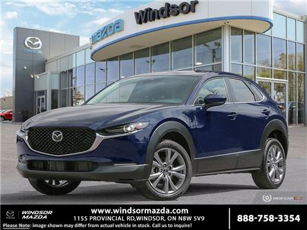2021 Mazda CX-30 GS (Stk: X38669) in Windsor - Image 1 of 10