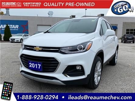 2017 Chevrolet Trax Premier (Stk: 20-0405A) in LaSalle - Image 1 of 26