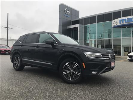 2018 Volkswagen Tiguan Highline (Stk: UM2484) in Chatham - Image 1 of 23