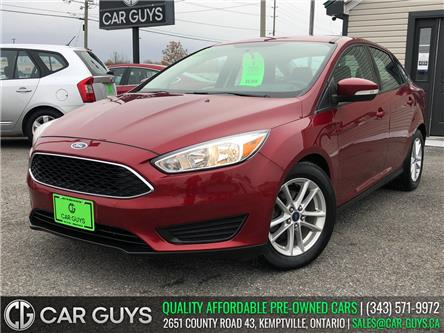 2015 Ford Focus SE (Stk: CG0107) in Kemptville - Image 1 of 24