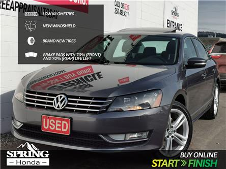 2013 Volkswagen Passat 2.0 TDI Highline (Stk: B11831) in North Cranbrook - Image 1 of 15