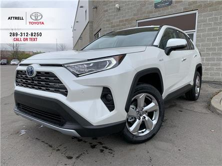 2021 Toyota RAV4 HYBRID LIMITED (Stk: 48195) in Brampton - Image 1 of 26
