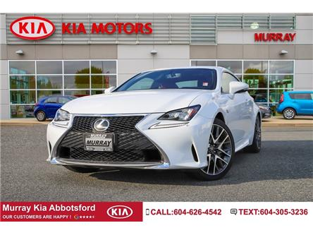 2015 Lexus RC 350 Base (Stk: ST11241A) in Abbotsford - Image 1 of 18