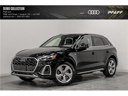 2021 Audi Q5 45 Progressiv (Stk: T18908) in Vaughan - Image 1 of 21