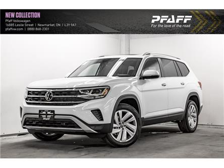 2021 Volkswagen Atlas 3.6 FSI Highline (Stk: V5456) in Newmarket - Image 1 of 21