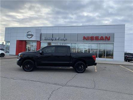 2018 Nissan Titan SL Midnight Edition (Stk: P2110) in Smiths Falls - Image 1 of 12