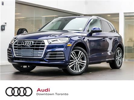 2018 Audi Q5 2.0T Technik (Stk: P4034) in Toronto - Image 1 of 33