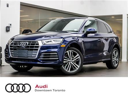 2018 Audi Q5 2.0T Technik (Stk: P4038) in Toronto - Image 1 of 30