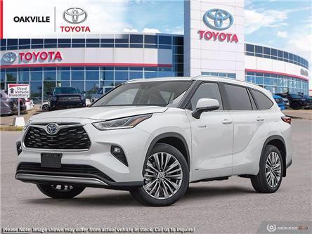 2021 Toyota Highlander Hybrid Limited (Stk: 21075) in Oakville - Image 1 of 23