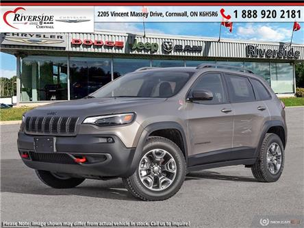 2021 Jeep Cherokee Trailhawk (Stk: N21006) in Cornwall - Image 1 of 23