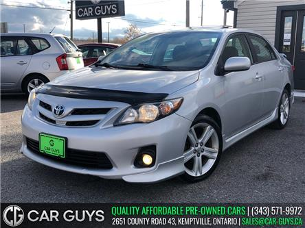 2011 Toyota Corolla XRS (Stk: CG0110) in Kemptville - Image 1 of 22