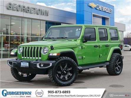 2019 Jeep Wrangler Unlimited Sahara (Stk: 32638) in Georgetown - Image 1 of 27