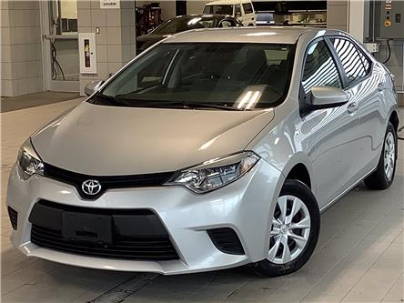 2016 Toyota Corolla CE (Stk: P19283) in Kingston - Image 1 of 9