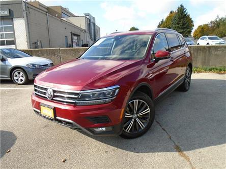 2018 Volkswagen Tiguan Highline (Stk: W1392A) in Toronto - Image 1 of 21