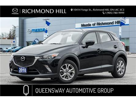 2018 Mazda CX-3 GS (Stk: P0537) in Richmond Hill - Image 1 of 19