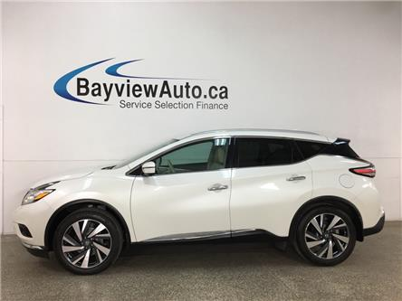 2017 Nissan Murano Platinum (Stk: 37261W) in Belleville - Image 1 of 26