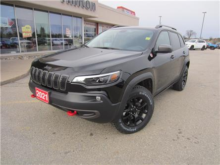 2021 Jeep Cherokee Trailhawk (Stk: 21014) in Perth - Image 1 of 18