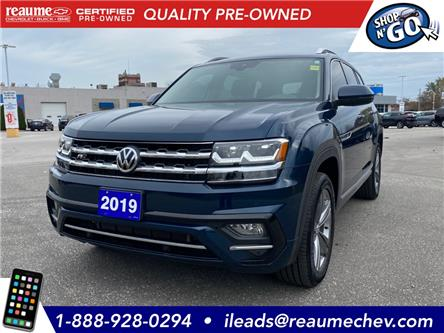 2019 Volkswagen Atlas 3.6 FSI Execline (Stk: 20-0706A) in LaSalle - Image 1 of 23
