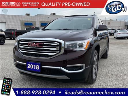 2018 GMC Acadia SLT-2 (Stk: 20-0785A) in LaSalle - Image 1 of 21