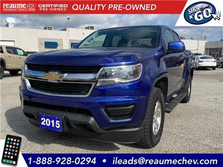 2015 Chevrolet Colorado WT (Stk: 20-0754A) in LaSalle - Image 1 of 23