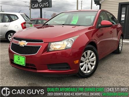 2011 Chevrolet Cruze LT Turbo (Stk: CG0109) in Kemptville - Image 1 of 21
