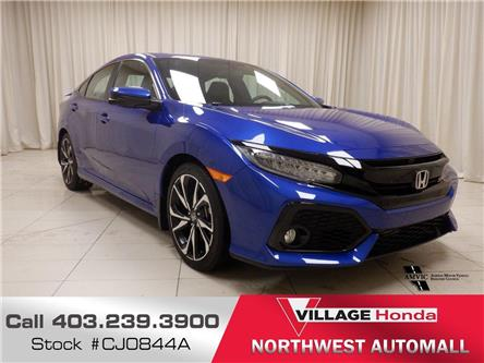 2019 Honda Civic Si Base (Stk: CJ0844A) in Calgary - Image 1 of 21