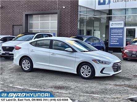2017 Hyundai Elantra LE (Stk: H6129) in Toronto - Image 1 of 26