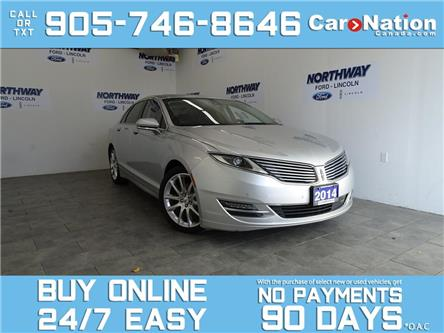 2014 Lincoln MKZ 3.7L | AWD | LEATHER | SUNROOF | NAV | ONLY 58 KM! (Stk: P5984) in Brantford - Image 1 of 27
