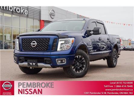 2018 Nissan Titan PRO-4X (Stk: 20105A) in Pembroke - Image 1 of 12