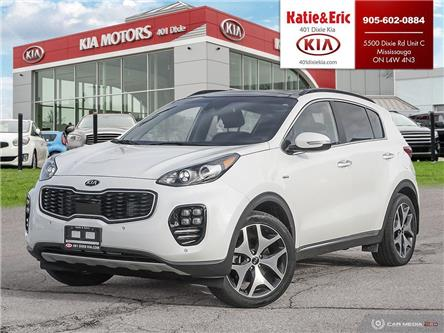 2018 Kia Sportage SX Turbo (Stk: TR21002A) in Mississauga - Image 1 of 25