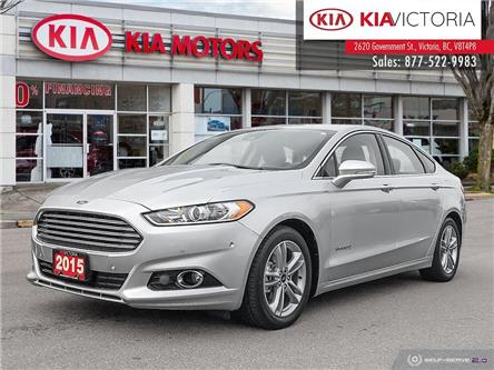 2015 Ford Fusion Hybrid Titanium (Stk: SO21-099A) in Victoria - Image 1 of 25
