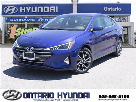 2020 Hyundai Elantra Preferred w/Sun & Safety Package (Stk: 110010) in Whitby - Image 1 of 20