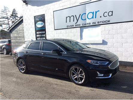 2020 Ford Fusion Hybrid Titanium (Stk: 201117) in Ottawa - Image 1 of 22
