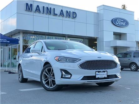 2020 Ford Fusion Hybrid Titanium (Stk: P2749) in Vancouver - Image 1 of 30