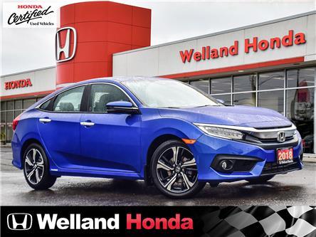 2018 Honda Civic Touring (Stk: U20403) in Welland - Image 1 of 27