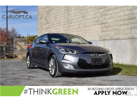 2017 Hyundai Veloster Base (Stk: B6451A) in Kingston - Image 1 of 22