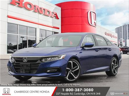 2020 Honda Accord Sport 1.5T (Stk: 21356) in Cambridge - Image 1 of 24