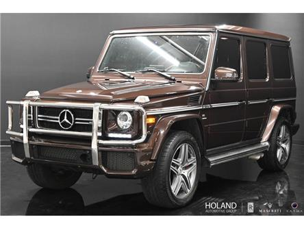 2017 Mercedes-Benz AMG G 63 Base (Stk: WDCYC7) in Montreal - Image 1 of 30