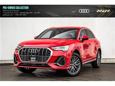 2019 Audi Q3 2.0T Technik (Stk: C7959) in Woodbridge - Image 1 of 22