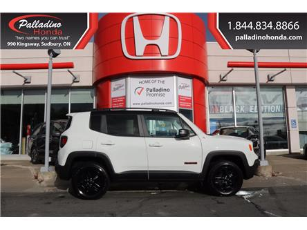 2018 Jeep Renegade Trailhawk (Stk: BC0109) in Greater Sudbury - Image 1 of 31