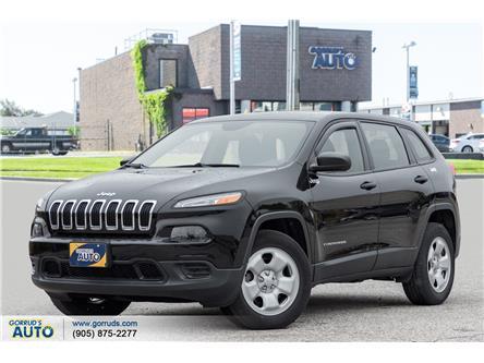 2017 Jeep Cherokee Sport (Stk: 618045) in Milton - Image 1 of 20