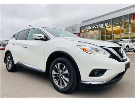 2017 Nissan Murano SL (Stk: U16736) in Thornhill - Image 1 of 19