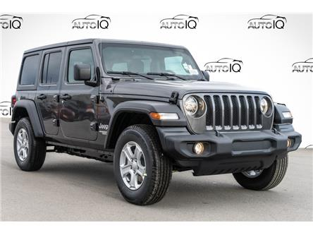 2021 Jeep Wrangler Unlimited Sport (Stk: 44170) in Innisfil - Image 1 of 21