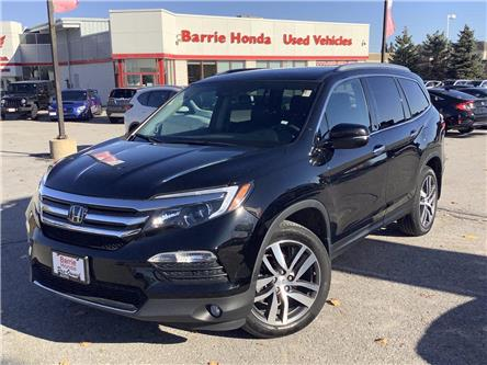 2017 Honda Pilot Touring (Stk: U17996) in Barrie - Image 1 of 23