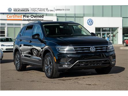 2018 Volkswagen Tiguan Highline (Stk: 00045B) in Calgary - Image 1 of 46