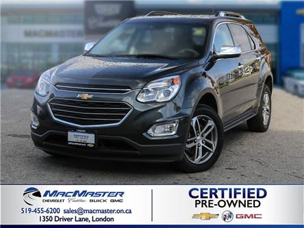 2017 Chevrolet Equinox Premier (Stk: 200434A) in London - Image 1 of 10