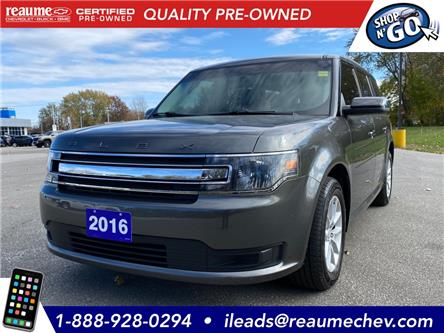 2016 Ford Flex SE (Stk: 20-0777A) in LaSalle - Image 1 of 28