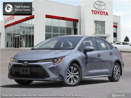 2021 Toyota Corolla Hybrid Base w/Li Battery (Stk: 90809) in Ottawa - Image 1 of 24