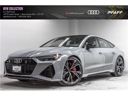 2021 Audi RS 7 4.0T (Stk: A13570) in Newmarket - Image 1 of 22