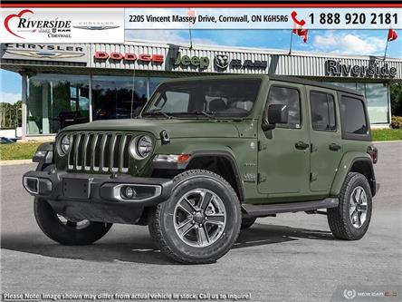 2021 Jeep Wrangler Unlimited Sahara (Stk: N21007) in Cornwall - Image 1 of 23